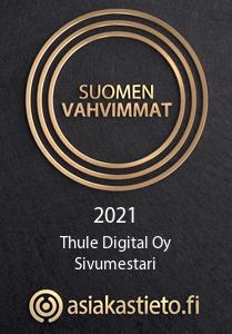 Suomen vahvimmat Thule Digital